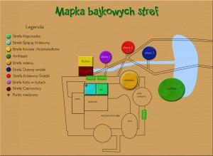 Mapka bajkowych stref